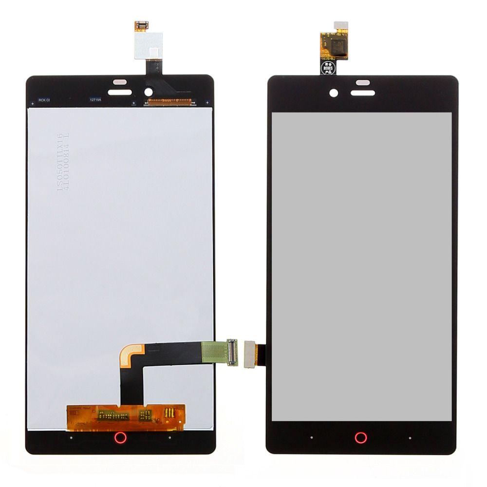 5.0 pollici Nero Full LCD DIsplay + Touch Screen Digitizer Assembly di Ricambio ZTE Nubia Z9 mini Z9mini NX511J Spedizione gratuita