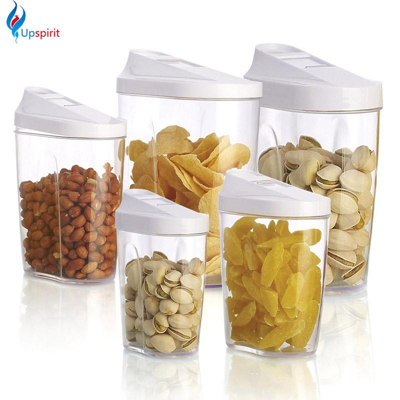 Food Storage Organization Plastic Kitchen Storage Box Nuts - Kitchen storage boxes