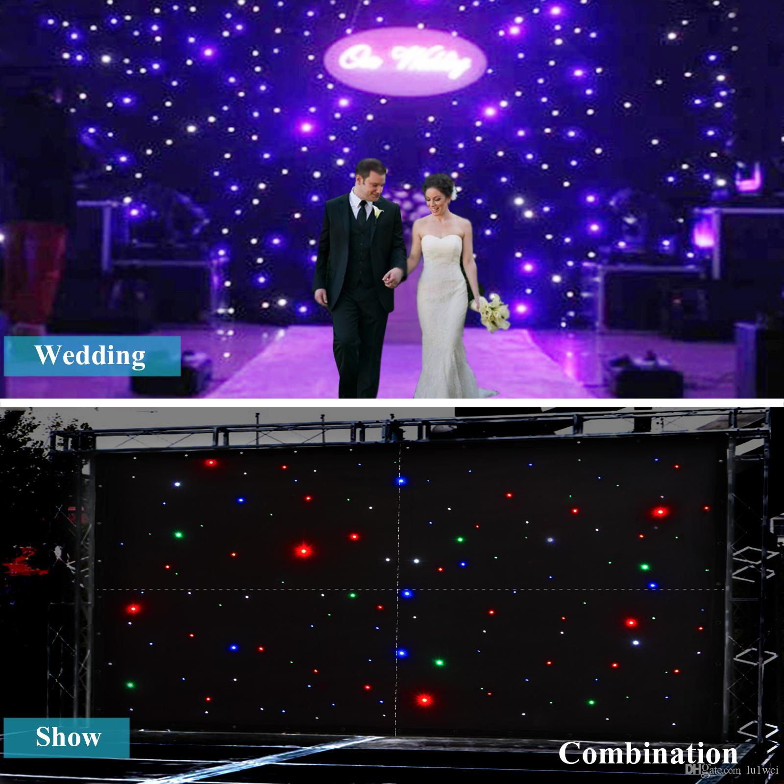 3 x 2m led stage star backdrop 8ch wedding background dj curtain 3 x 2m led stage star backdrop 8ch wedding background dj curtain retardant wedding decoration supplies western wedding decorations from lu1wei thecheapjerseys Choice Image