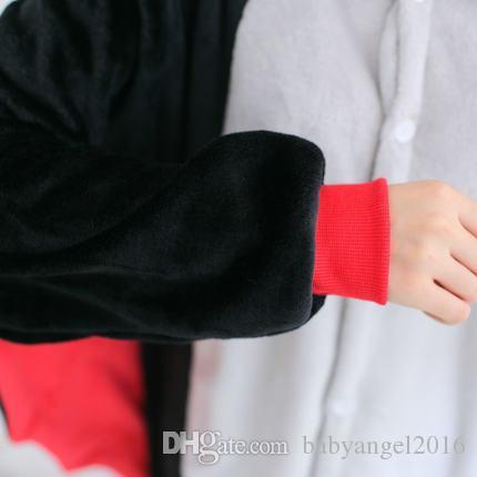 Unisex Adult Cosplay Pyjamas Tier Fledermaus Pyjamas Kigurumi Halloween Onesie Kostüm