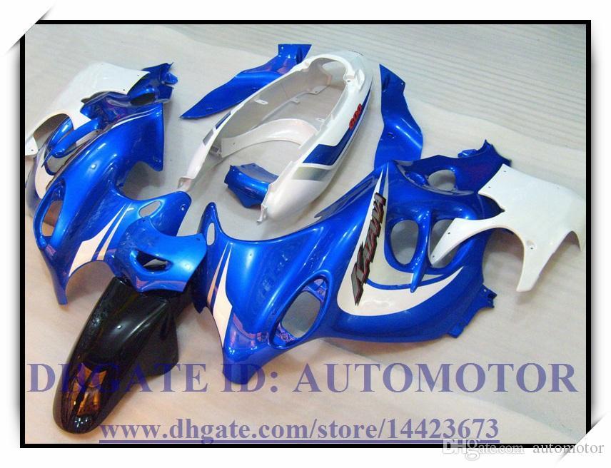 Nuovo kit carena ABS 100% Suzuki GSX600F / 750F 2003-2006 2004 2005 Katana GSX 600F 03-06 Katana # FD682 BLU
