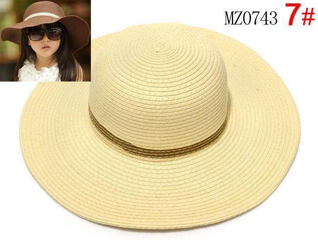 Crianças, menina, chapéus, praia, chapéu, bebê meninas, sol, chapéu, caps7, cores