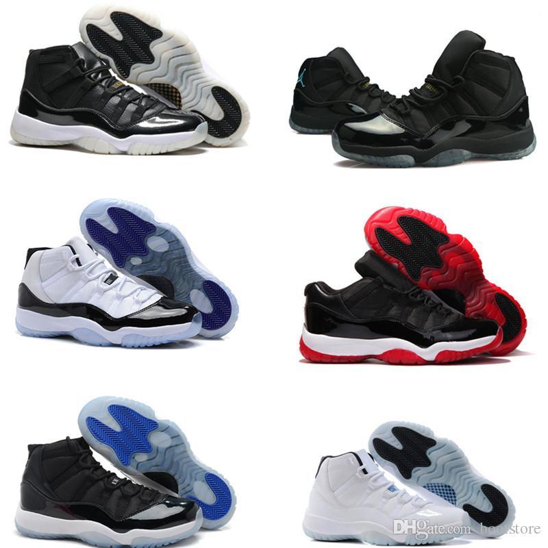 Acheter Haute Jordan Qualité Retro Nike Air Jordan Haute 11 Space Jam Bred Gamma b81aeb