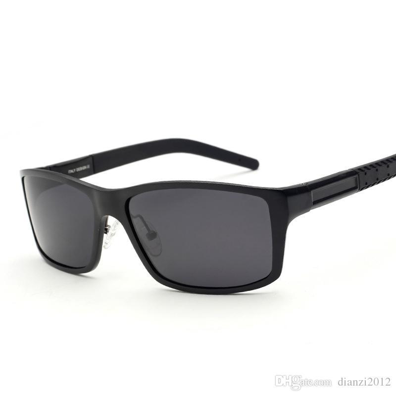 4c7c9306b8 Polarized Mens Sunglasses Outdoor Driving Glasses Aluminum Magnesium High  Quality Sun Glasses Sports Fishing Sunglasses Anti Glare Goggles Polarised  ...
