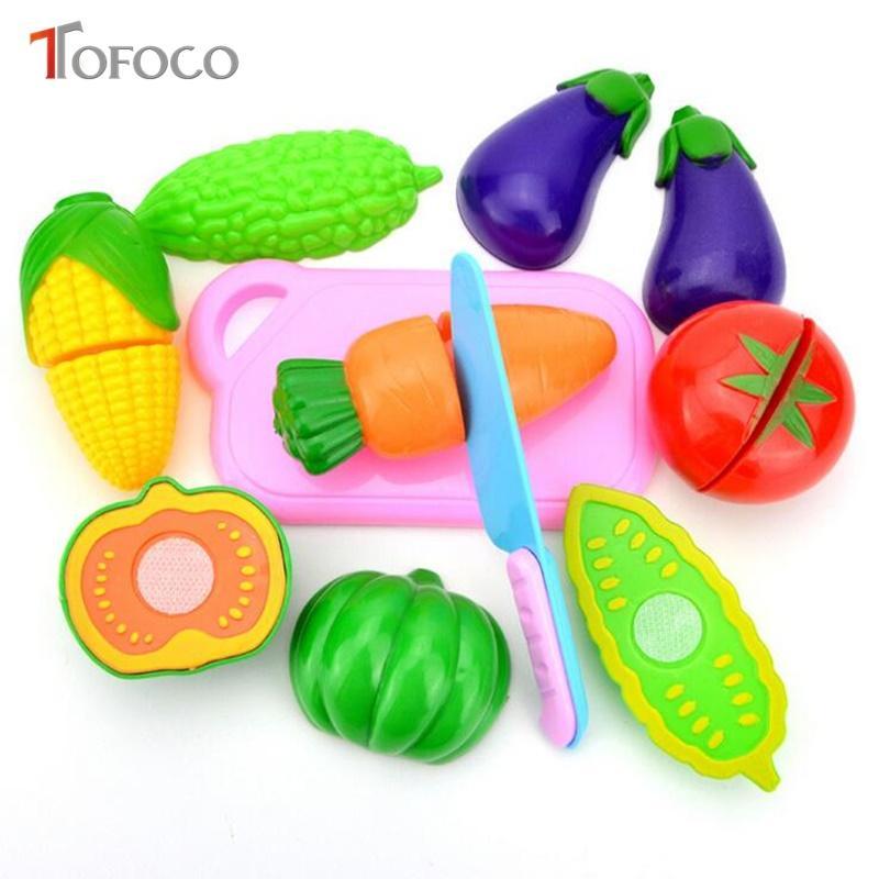 2018 Wholesale Tofoco New 4/6/plastic Children\'S Kitchen Set Toys ...