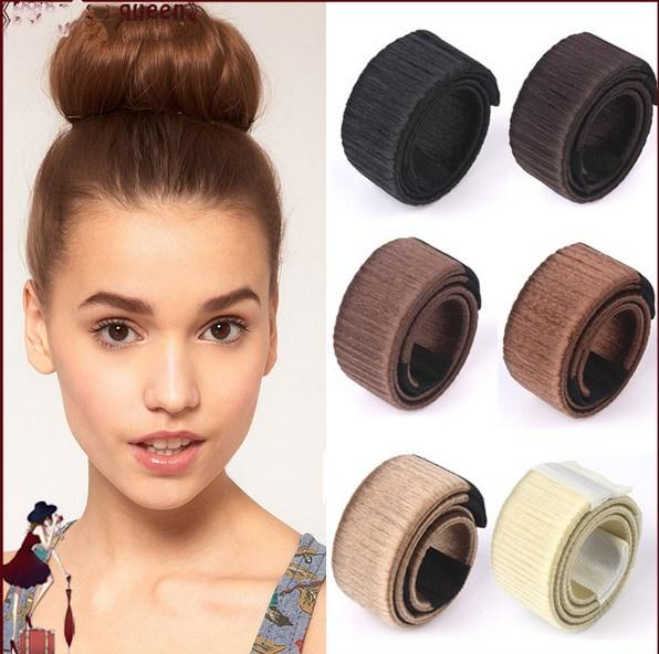 Fake Hair Hairagami Bun Extension Updo Synthetic Hair Band