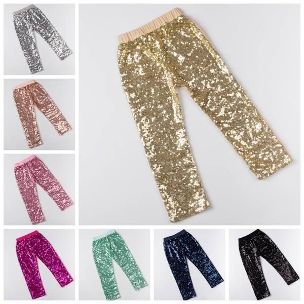children sequins leggings girls tights pants kids christmas legging kids cotton infant gold hot pink black blue trouser children sequins leggings girl