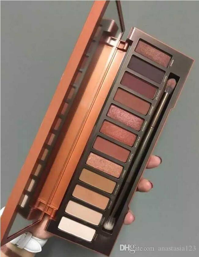أحدث مجموعة من 12 ألوان ظلال ماكياج المهنية حالة مستحضرات التجميل