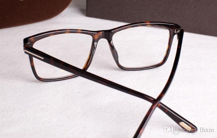 2017 nova marca Italiana armações de óculos 5407 quadros de óculos de moda para homens e mulheres frete grátis