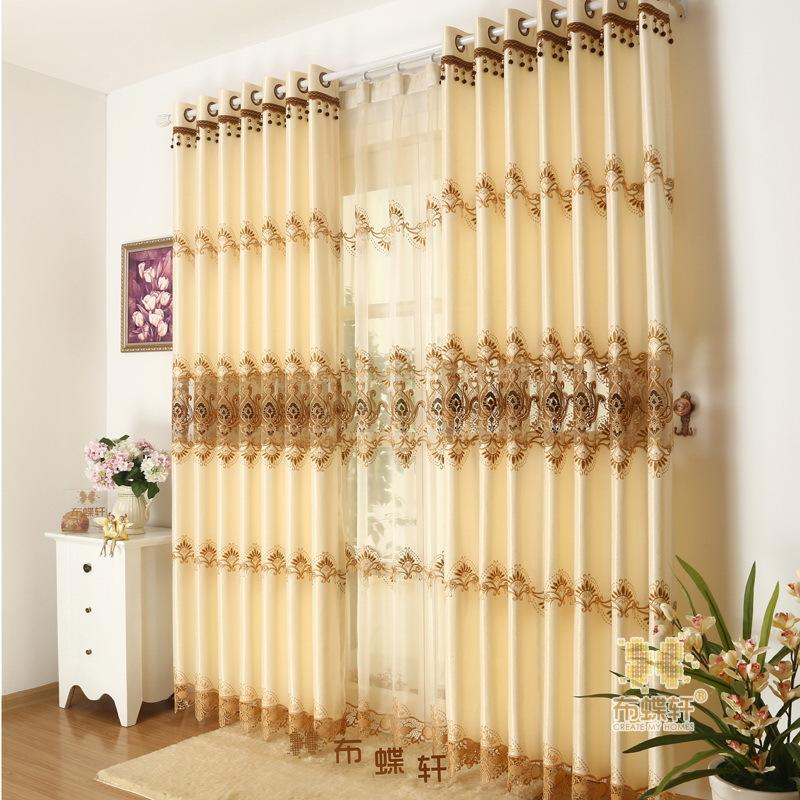 2016 Hot Vintage Silk Sheer Curtain Floral Embroidered Curtains For Home  Bedroom Living Room Decor Priscilla Curtains Cotton Curtains From  Gl_lighting, ...