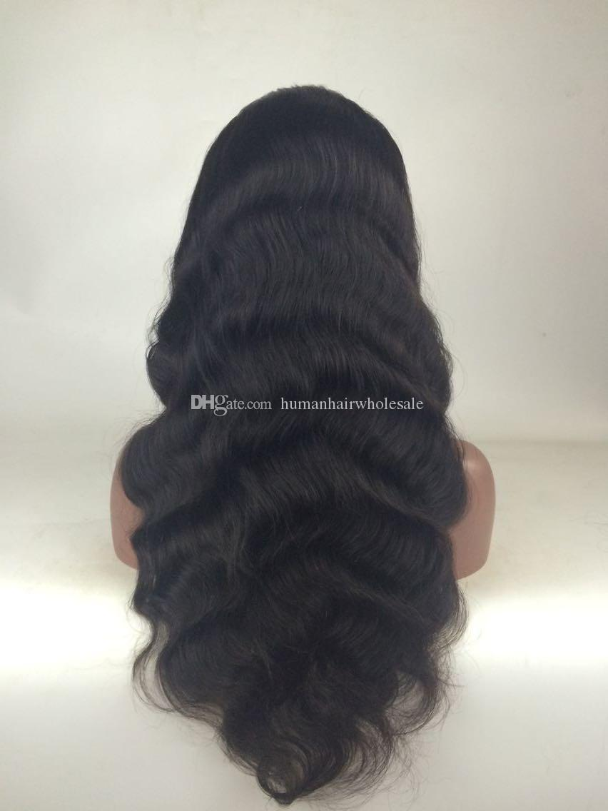 9A Cheap Full Lace Wigs For Black Women Natural Color Brazilian Hair Wigs Deep Wave Kinky Curly Human Hair Wigs With Baby Hair