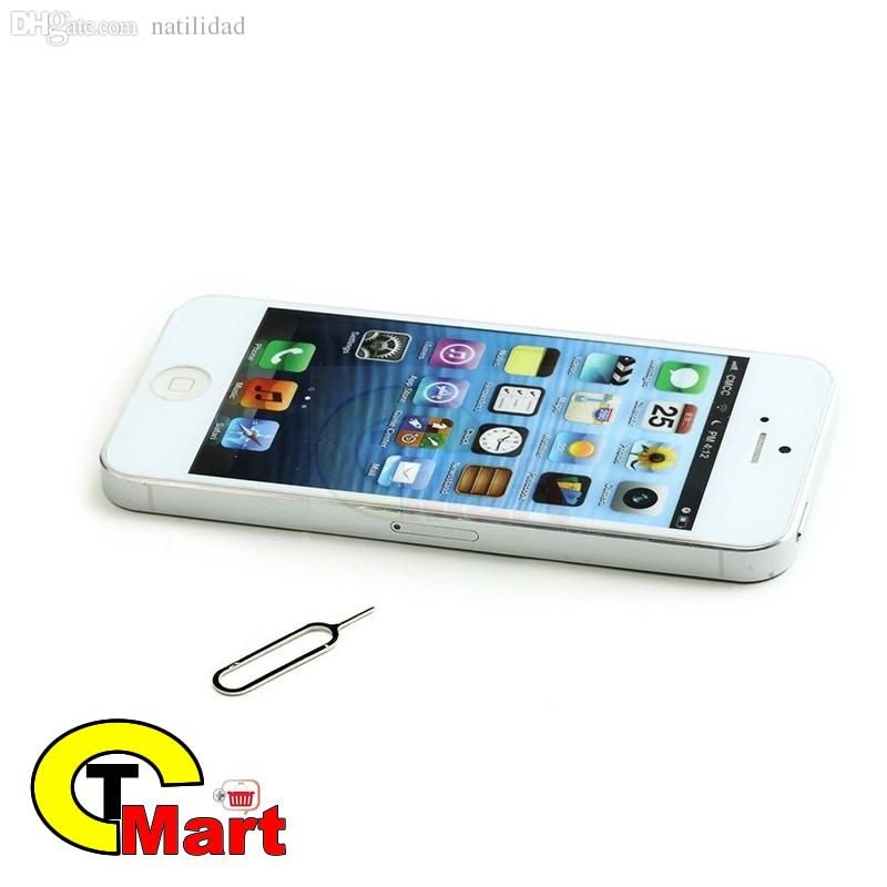 Wholesale-2000set / lot ** Sim Card Vassoio Espulsione Pin Key Tool per iPhone / Samsung iPad