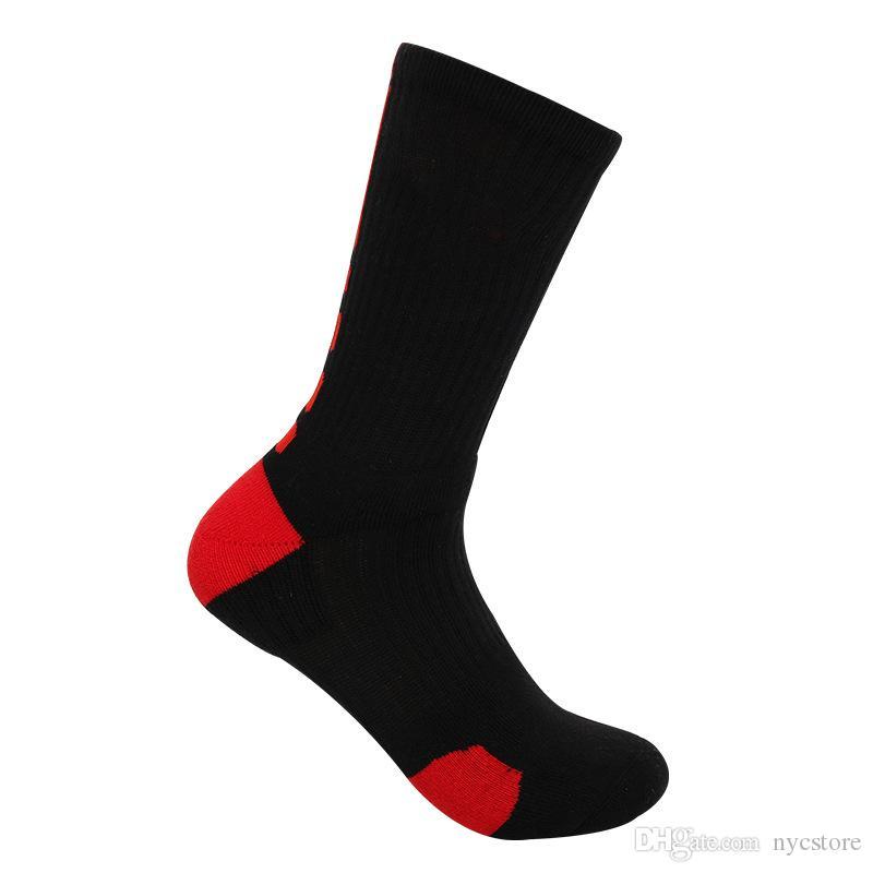 Calzini di pallacanestro professionali del DHL di USA FREE FREE con il logo Calzini atletici di sport gli uomini Calzini invernali termici di compressione caldi alta qualità