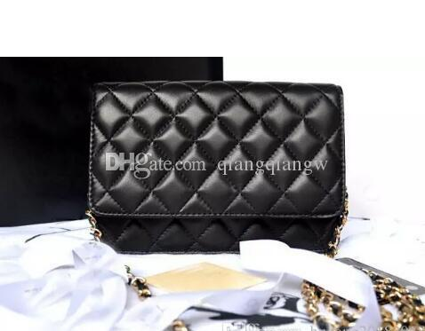 9a8d966ad8925 33814 Luxury Mini Classical Woc Bag Wallet On Chain Women Genuine ...