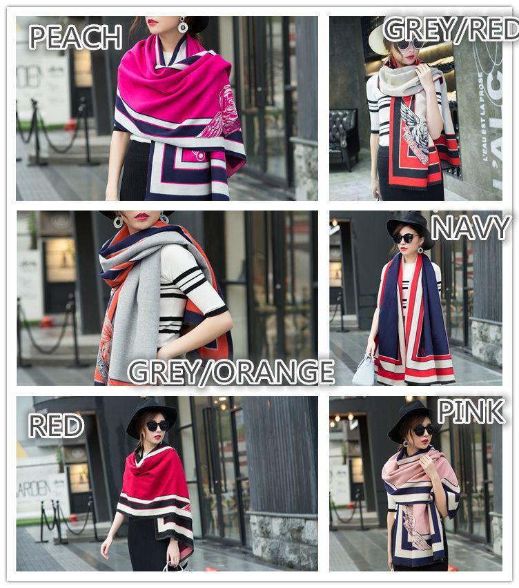 Top Ladies Women pashmina cashmere long winter scarves fashion wraps soft warm scarf cashmere pashmina party accessories, to choose