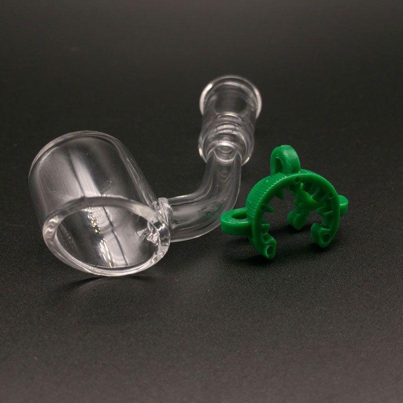 Pequeño bubbler 4.0 pulgadas mini Bongs vaso de vidrio con 2 mm de espesor banger cuarzo mini Dab Rigs Tubos de vidrio de agua