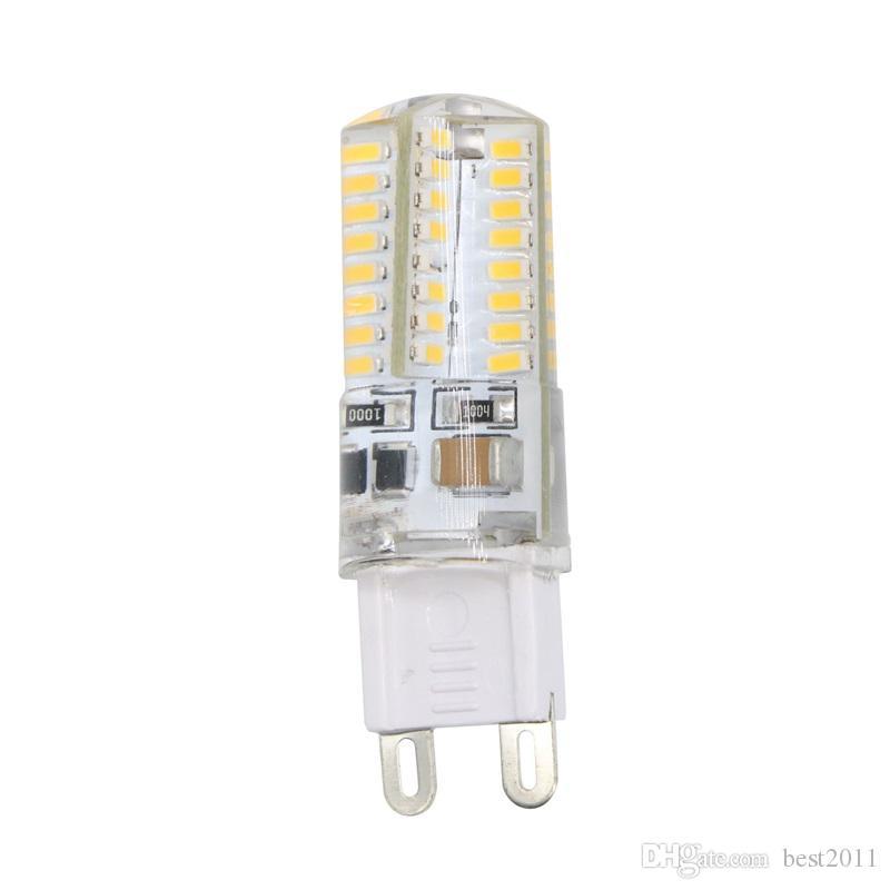 Мини-светодиодные лампы лампы G9 Led Хрустальная люстра свет 64Leds AC 110V 220V Home Art Decor Освещение Заменить галогенная лампа
