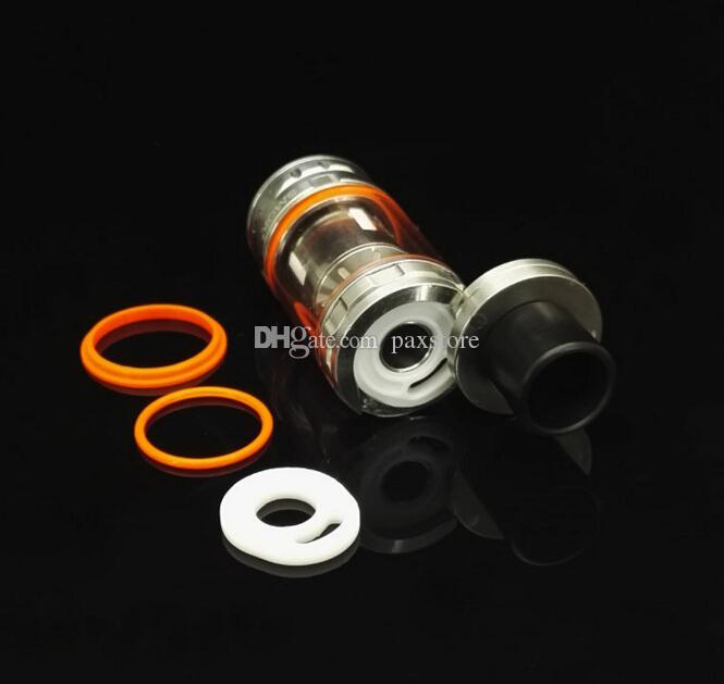 New TFV8 Silicone O Rings fit TFV8 Atomizer Full Kit Silicone Ring for TFV8 Black SS Top Refilling Tank FREE SHIP