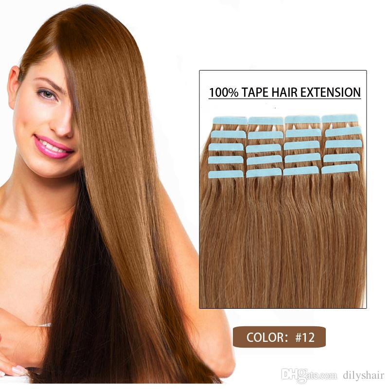 Real human hair extensions for sale images hair extension hair on sale 12 real human hair 16inch 24inch tape in skin human hair on sale 12 pmusecretfo Choice Image