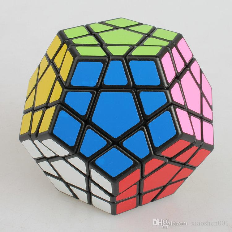 2016 NEW Shengshou SS Megaminx Magic Cube Professional 5x5x5 PVC&Matte Stickers Cubo Magico Puzzle Speed Classic Toys