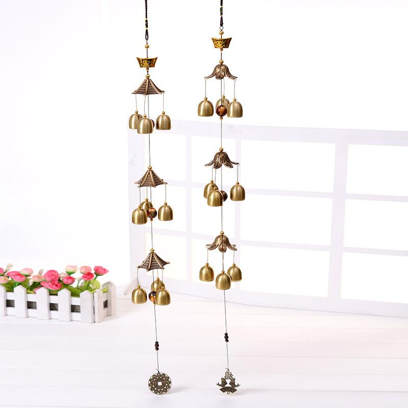 Large Wind Bells Copper Wind Chimes Bell Outdoor Decorations Good Lucky  Metal Pagoda For Hanging Home Decor Home Decorative Accessories Home  Decorative ...