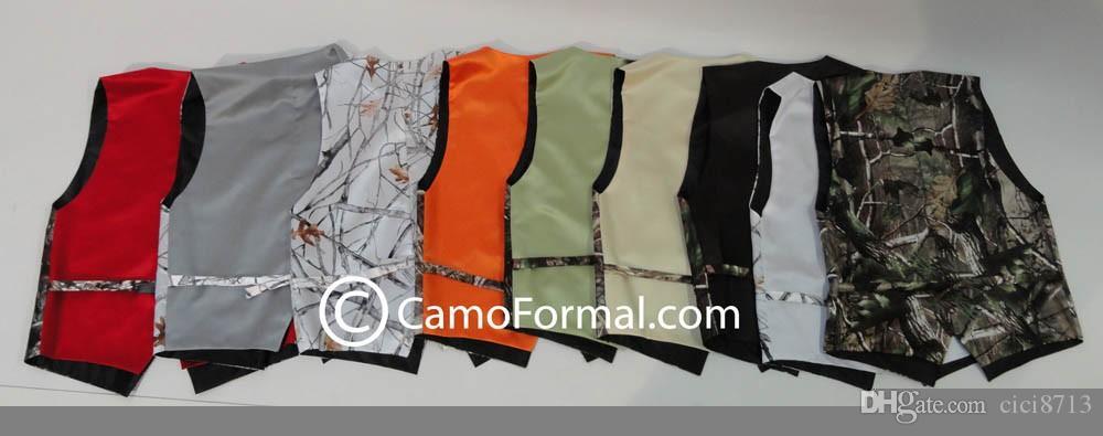 Camo Vest Kids Formal Wear Boy's Wedding Wear Custom Made