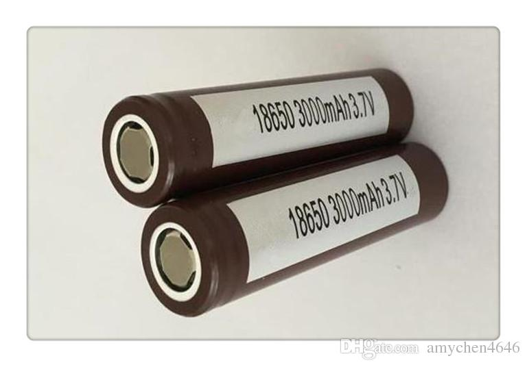HEIßER 18650 HG2 3000mAh Kapazität Max 35A High Drain Batterien Wiederaufladbare Lithium-Batterie HG2 VS VTC5 HE2 HE4 Für LG Electonic Ciga