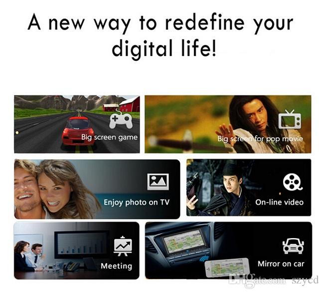 MiraScreen OTA TV Stick Dongle meglio di EasyCast Ricevitore display Wi-Fi DLNA Airplay Miracast Airmirroring Chromecast DHL LIBERO Quando