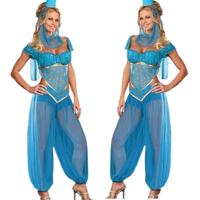 see larger image - Blue Halloween Dress
