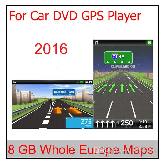 2018 8gb Micro Sd Card Car Gps Navigation 2016 Map Software For