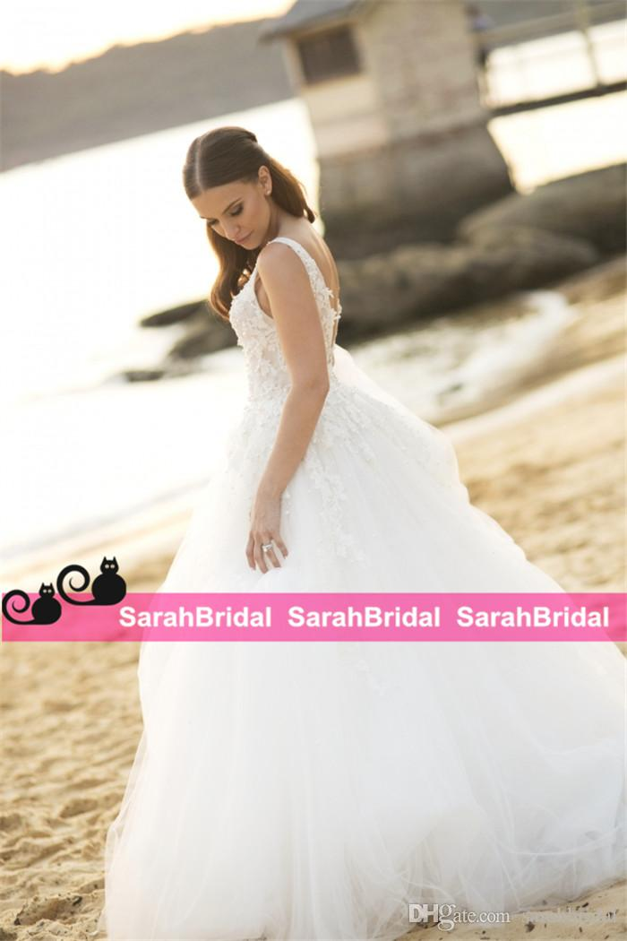 2019 Pays pas cher pays deux pièces 2 en 1 robes de mariée sirène avec amovible longue sur jupe train perles robes de mariée ainsi que la taille pas cher
