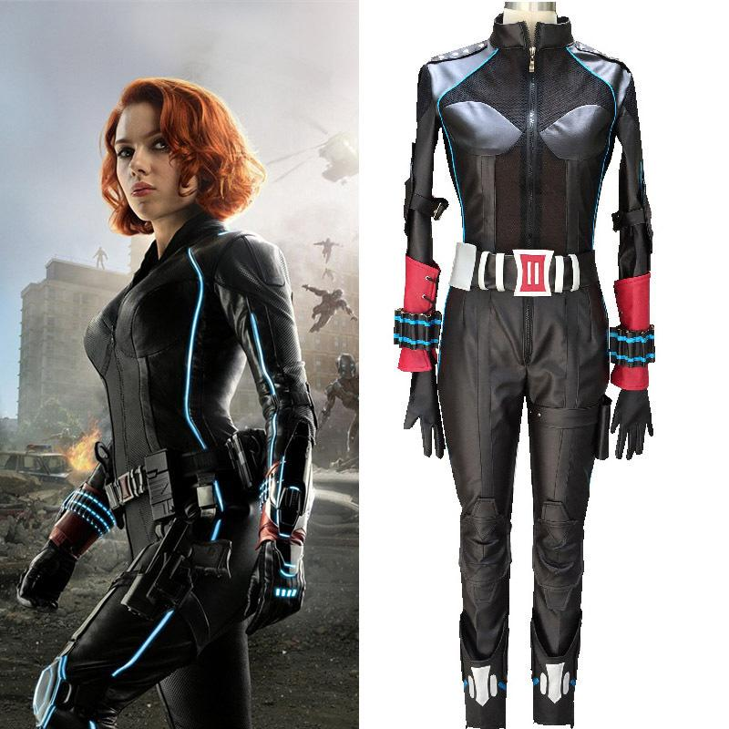 Avengers 2 Adult Black Widow Cosplay Costume Natasha Romanoff Catsuit Age Of Ultron Costume For Women Halloween Party Costumes Cool Costumes Original ...  sc 1 st  DHgate.com & Avengers 2 Adult Black Widow Cosplay Costume Natasha Romanoff ...