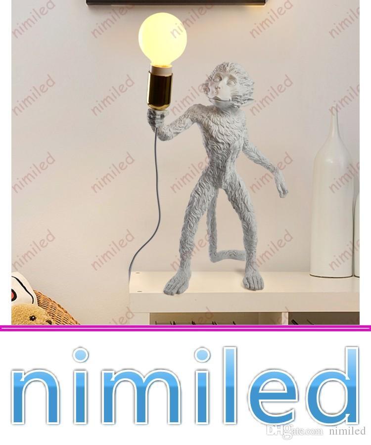 Satın Al Nimi1030 Italya Seletti Maymun Lamba Işıkları Başucu E27