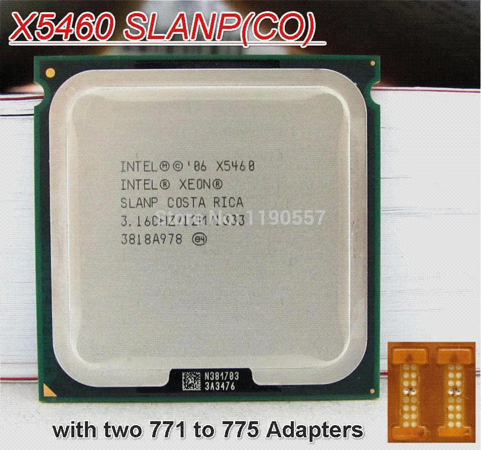 Original Xeon X5460,INTEL XEON X5460 Processor  (3 16GHz/12MB/1333MHz/LGA771)Server CPU cpu card cpu to tv cable cpu to tv  cable