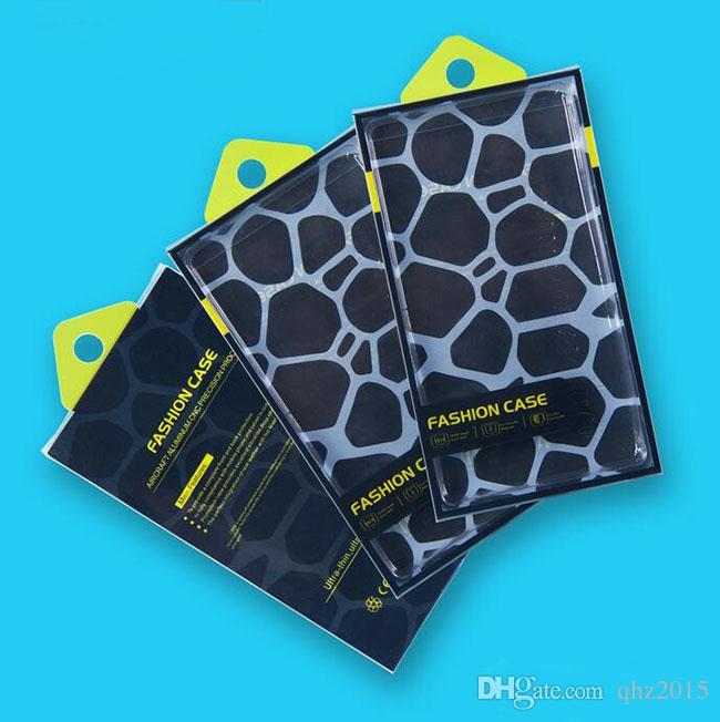 유니버설 휴대 전화 케이스 패키지 아이폰 6 플러스 삼성 케이스 맞는 5.7 인치에 대한 내부 삽입 PVC 플라스틱 소매 포장 상자