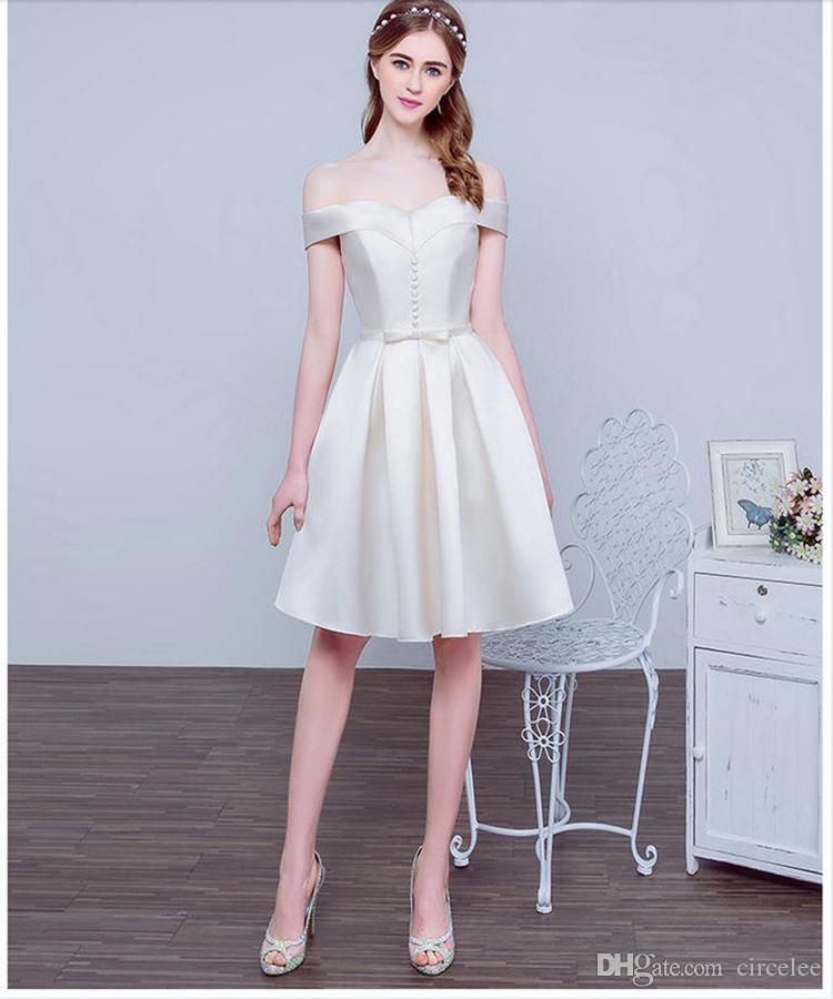 Celebrity Dresses Evening Dresses Online Bateau Short V-neck Lace-up Sweety Formal Wear Cocktail Dresses Celebrity Short Dresses