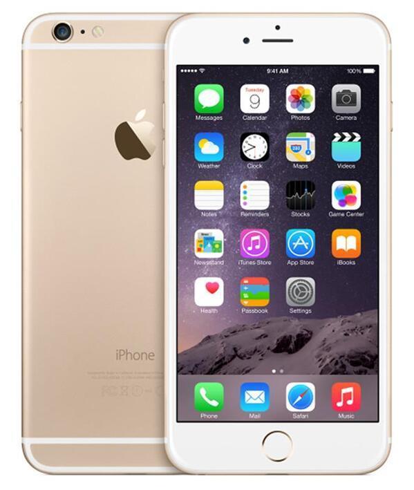 ابل اي فون 6 زائد بدون بصمات الأصابع 5.5 بوصة IOS 11 الهواتف 16GB / 64GB / 128GB 4G LTE مفتوح مستعمل