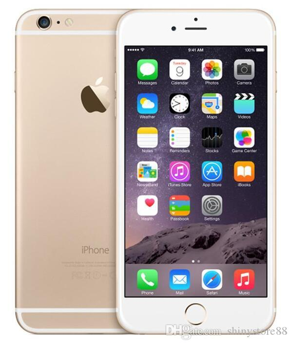 f14bed5483f Comprar Moviles Online Original Apple IPhone 6 Plus Con Touch ID 5.5  Pulgadas IOS 11 16GB / 64GB / 128GB Dual Core 4G LTE Teléfono Restaurado  Telefono Libre ...