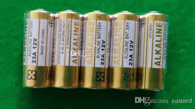 2000 قطعة / الوحدة الزئبق مجانا 0٪ زئبق pb 12 فولت 23A البطارية القلوية A23 MN21 L1028 بيلا ألكالينا لبيل الجرس ، التحكم عن بعد