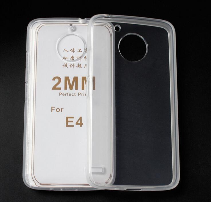 Tpu Couvercle Transparent Transparent Pour Motorola Moto E4, Plus