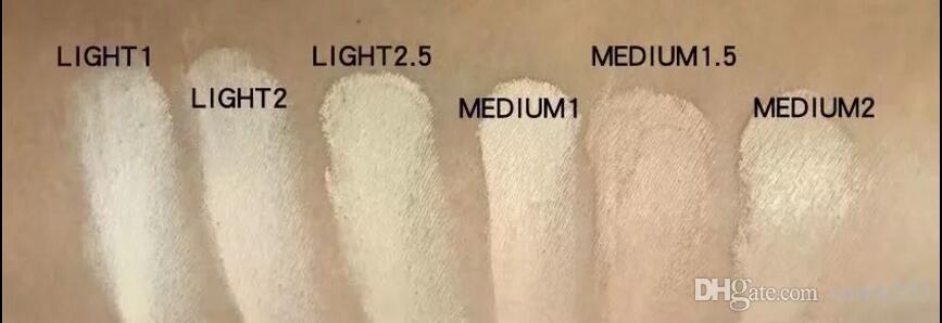 nouvelle marque MAKEUP le plus petit correcteur SIX différentes couleurs LIVRAISON GRATUITE