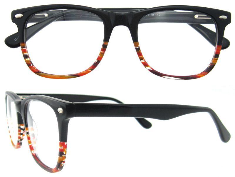 Myopia Acetate Optical Frames Glasses For Women Acetate Cheap ...