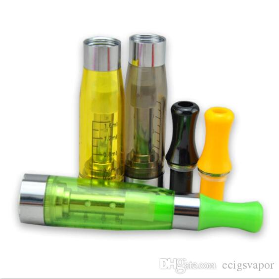 CE5 clearomizer no wick atomizer vaporizer 510 thread vape pen fit ecig ego-t evod Vision Spinner 2 battery VS ego ce4 blister kits