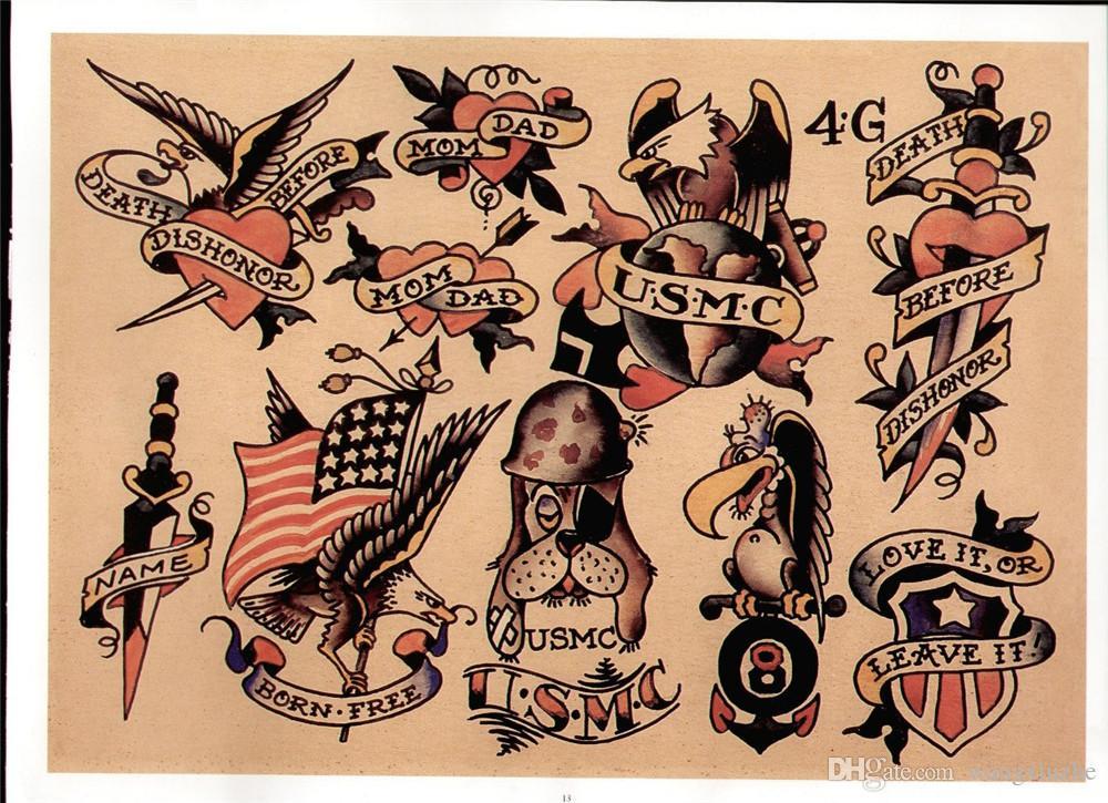 Classic Military Tattoos