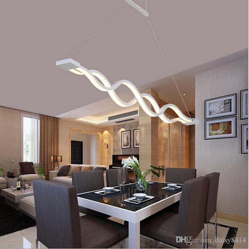 Grosshandel Neues Design Acryl Moderne Led Kronleuchter Lampe Fur