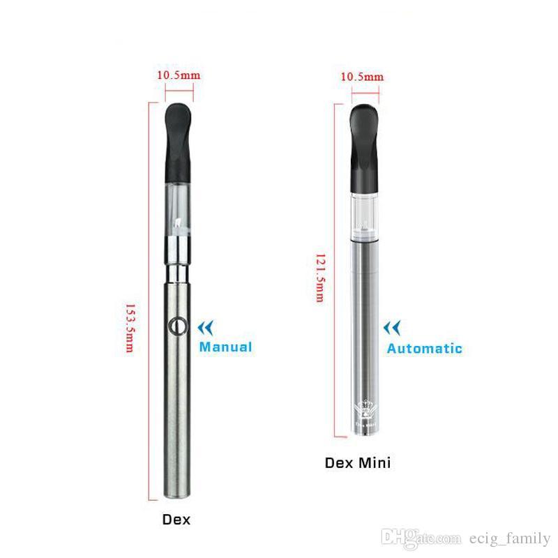 Stylet original de vaporisateur de bourgeon dex épais Épaisseur de stylo à l'huile mini 510 réservoir cigarette électronique santé fumer VS CE3 toucher kit de stylo vape
