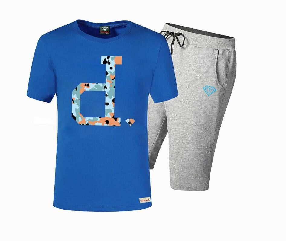 S-5xl sıcak Crooks ve Kaleler deri Tees mens kısa kollu baskılı hip hop t gömlek + pantolon