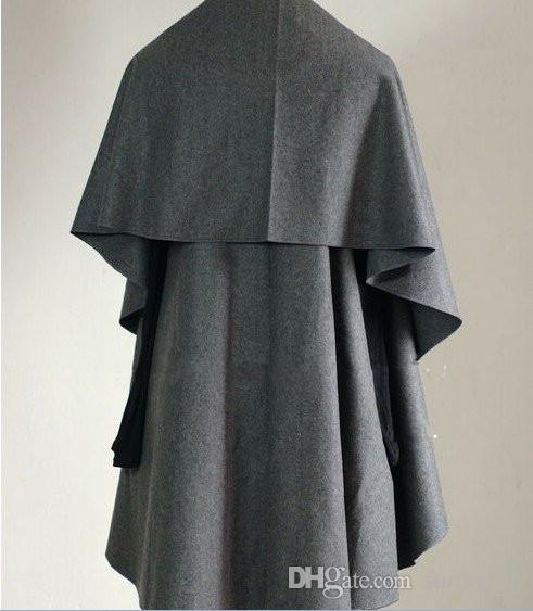 /Hot Sale Women's Fashion Wool Coat, Ladies' Noble Elegant Cape/Shawl. ladies poncho wrap scarves coat