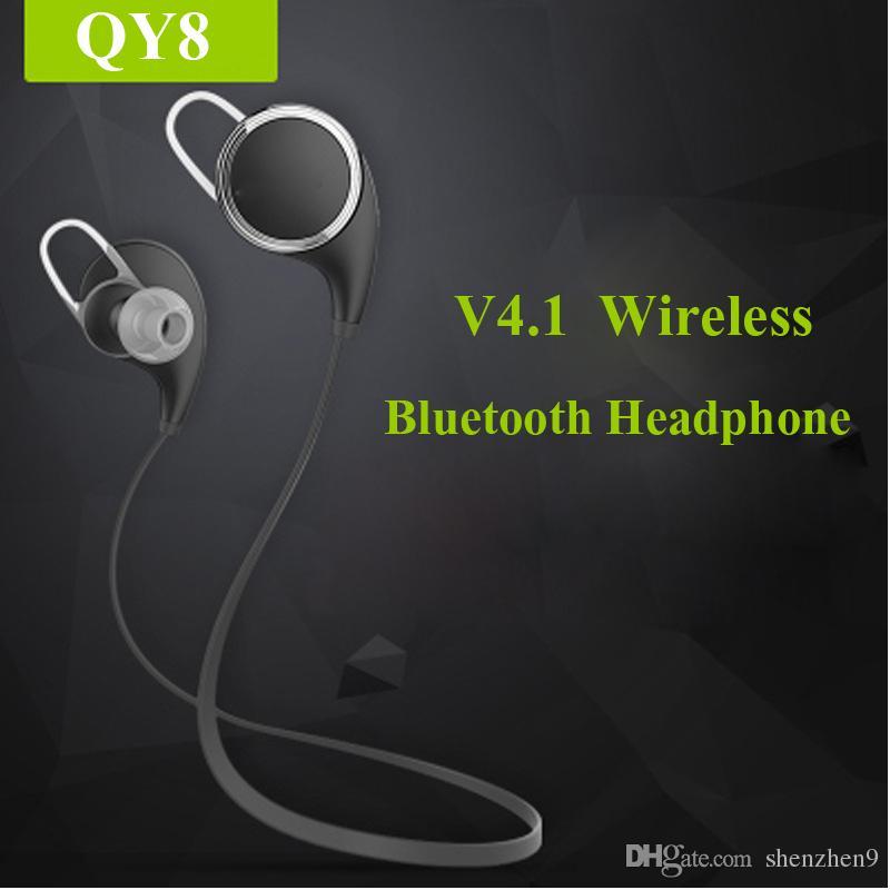 Casque Sans Fil Tv Qy8 Sport Stéréo Bluetooth Casque Pour Samsung