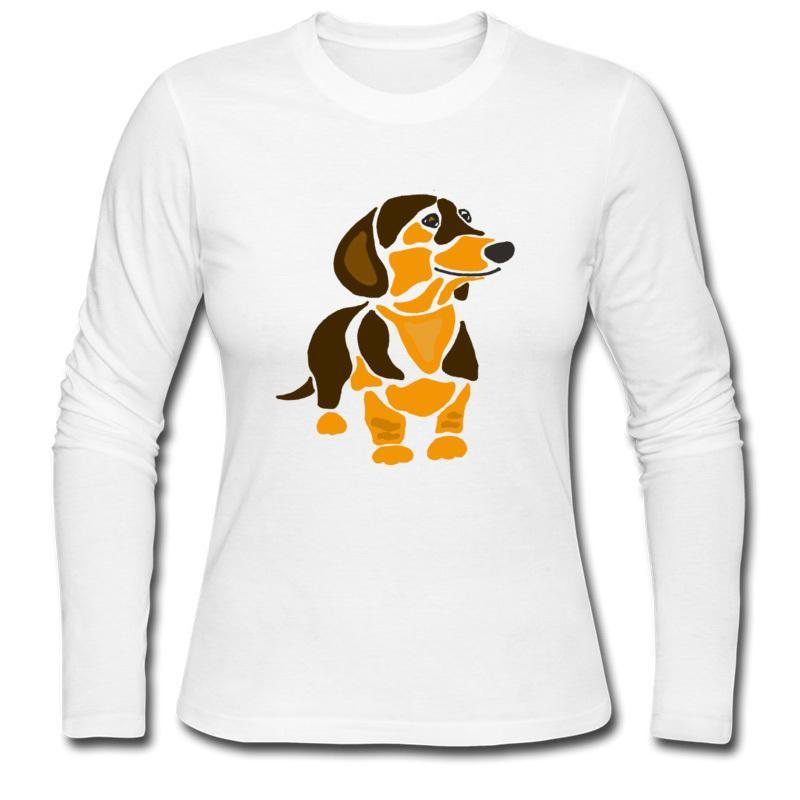 Nouveau design 3D impression dames T-shirt et coton à manches longues femmes T-shirt S-2XL fabricants soutiennent mixte gros